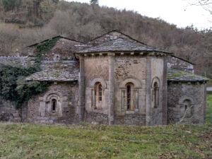 Ábside de la iglesia conventual de Santa María de Penamaior