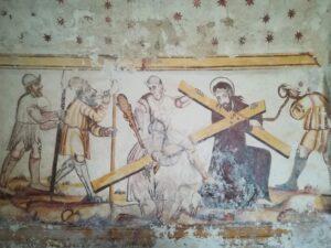 Frescos de la Capilla de San Esteban