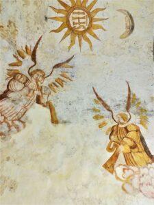 Frescos en San Martín de Berselos